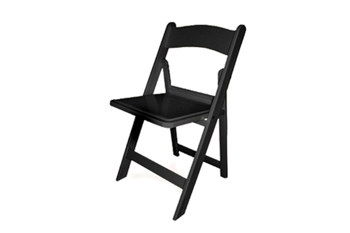 Black Padded Chairs