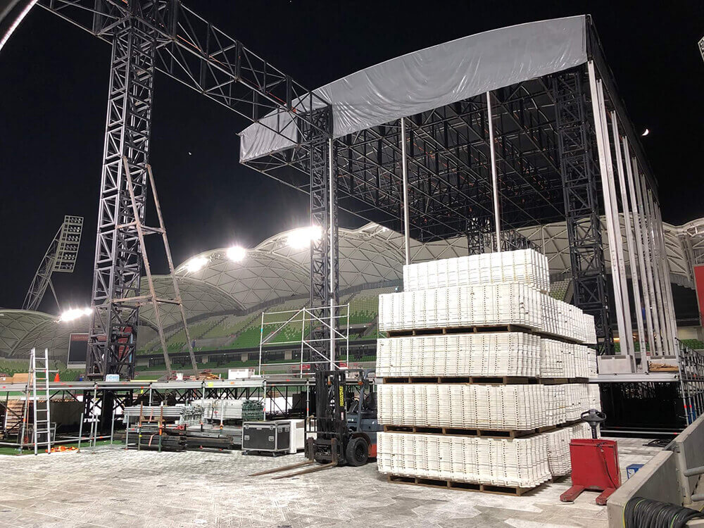 Phil Collins at AAMI Park