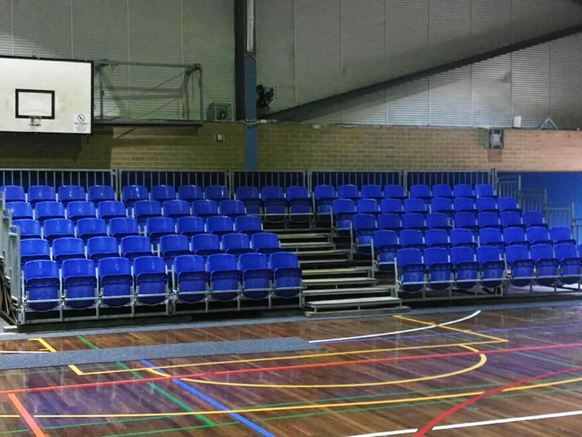 temporary grandstand seating 3