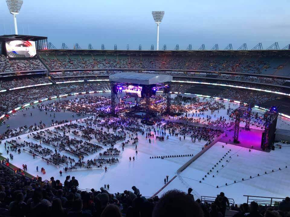 WWE World Wrestling Entertainment at the MCG