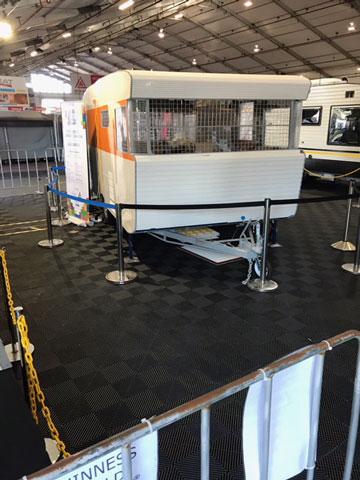 Lego Caravan - Queensland Caravan Camping & Tourist Super Show