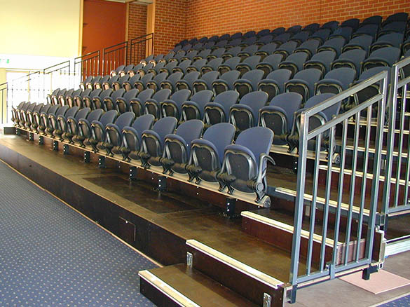 event planning retractable grandstand
