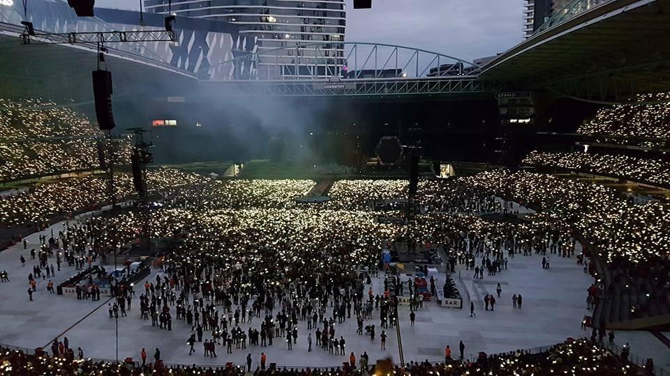 Coldplay at Etihad